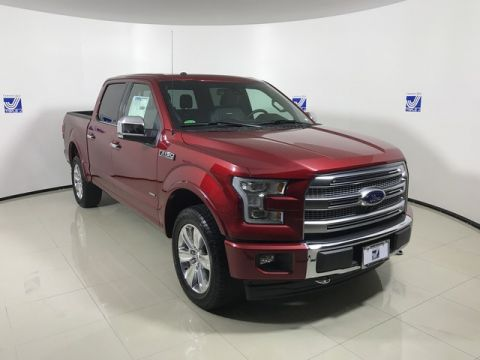New 2017 Ford F-150 SuperCrew Platinum 4WD
