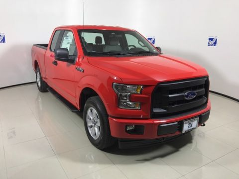 New 2017 Ford F-150 SuperCab Sport 2WD RWD Extended Cab Pickup