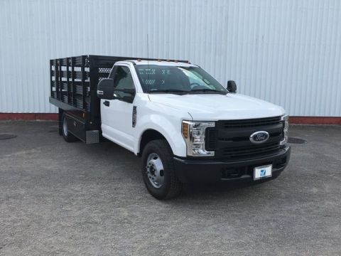 New 2019 Ford Super Duty F-350 XL 2WD DRW 12Ft Stakebed Truck