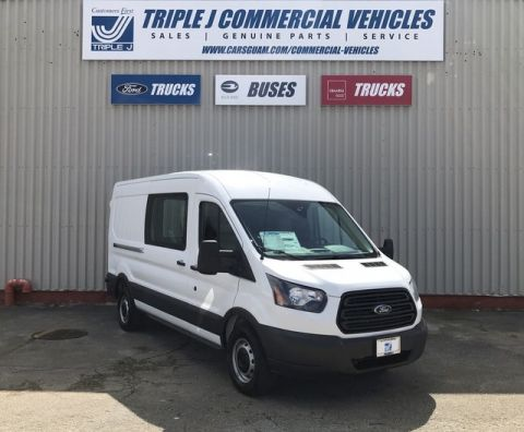 New 2018 Ford Transit 350 MR LWB Cargo Van