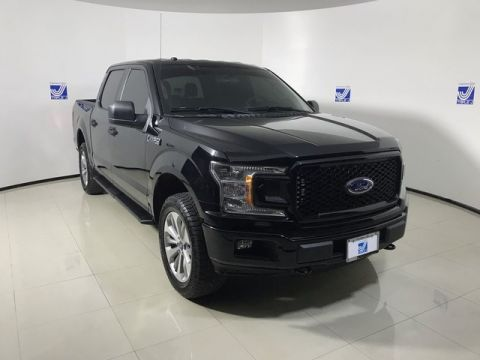 Pre-Owned 2018 Ford F-150 SuperCrew STX 4WD XL