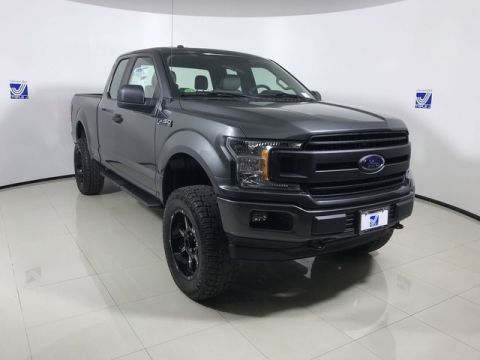 New 2018 Ford F-150 XL Sport Super Cab 4WD w/Lift Package