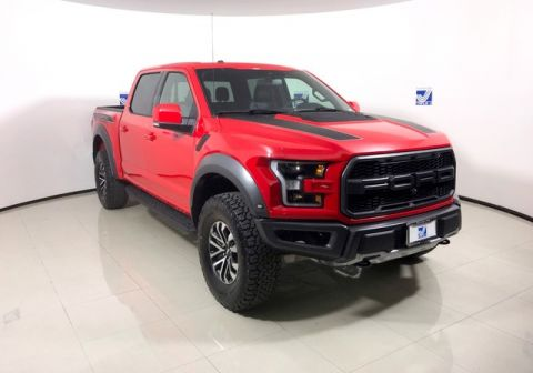 New 2019 Ford F-150 Raptor Super Crew Cab 4WD