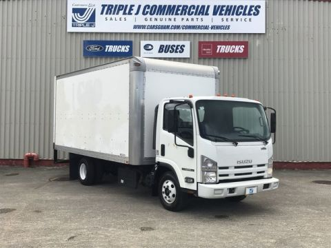 Pre-Owned 2013 ISUZU NPRHD 16ft. Box Truck