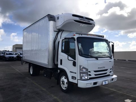 New 2019 ISUZU NRR 16Ft Reefer Truck