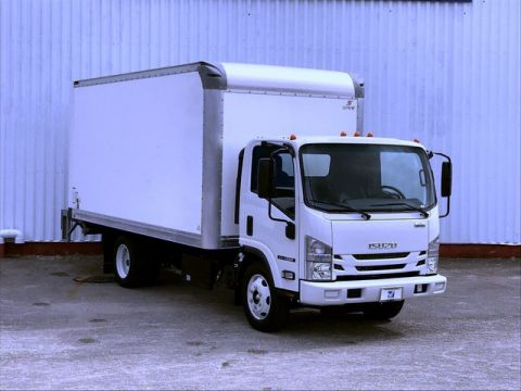 New 2019 ISUZU NQR 16 Ft Box Truck w/Lift